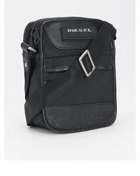 Diesel Black Utility Bag - Lyst