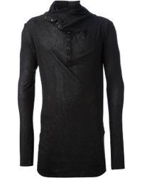Cedric Jacquemyn | Press Stud Fastening Sweater | Lyst