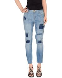 Current/Elliott | Denim Pants | Lyst