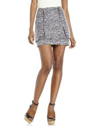 Do+Be Collection - Do + Be Printed Zip Skirt - Lyst