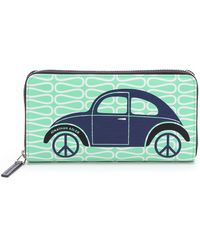 Jonathan Adler - Car Continental Zip Wallet - Lyst