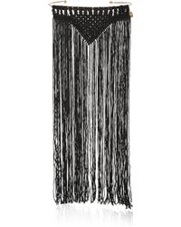 Day Birger et Mikkelsen - Day Meymaneh Fringed Silk And Gold-plated Necklace - Lyst