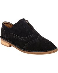 Steven by Steve Madden Deven Suede Brogue Oxfords - Lyst