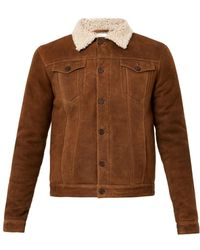 Jean.machine - J.M-4 Shearling Jacket - Lyst