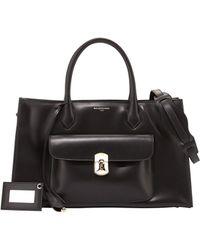 Balenciaga Padlock Work S Bag - Lyst