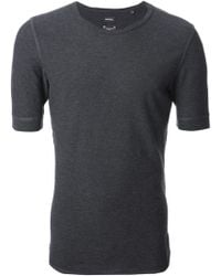 Diesel Gray Fitted Tshirt - Lyst