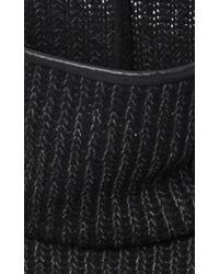 Clover Canyon - Sweater Knit Sweatshirt In Black - Lyst