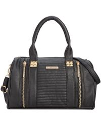 Rampage Quilted Satchel - Lyst