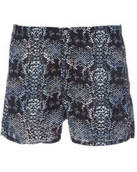 Marc By Marc Jacobs Snakeprint Cotton Boxer Shorts - Lyst