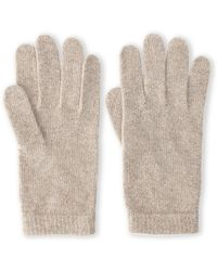 Portolano Knit Cashmere Gloves - Lyst