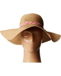 Vera Bradley Straw Hat - Lyst