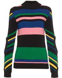 J.W. Anderson | Rainbow-stripe Wool-knit Sweater | Lyst