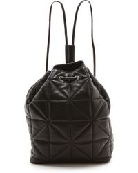 MILLY - Avery Backpack - Black - Lyst