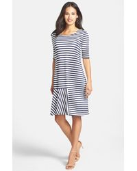 Weekend by Maxmara 'Dindi' Stripe Jersey Dress - Lyst