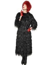 Simonetta Ravizza Mongolian and Kidassia Fur Coat - Lyst