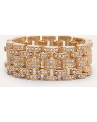 Bebe - Glitzy Link Clasp Bracelet - Lyst