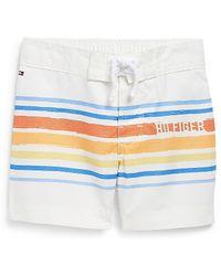Tommy Hilfiger Surfâs Up Board Shorts - Lyst