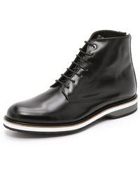 Want Les Essentiels De La Vie - Montoro High Derby Boots - Lyst