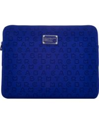Marc Jacobs Dreamy Logo 15 Computer Case - Blue