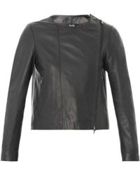 Freda Phoebe Leather Jacket - Lyst