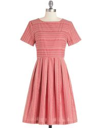 ModCloth Along For The Carnival Ride Dress - Lyst