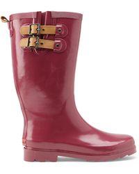 Chooka Pink Solid Rain Boots - Lyst