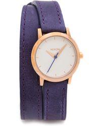 Nixon Kenzi Wrap Watch  Cobaltrose Gold - Lyst