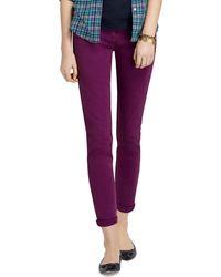 Brooks Brothers Janie Fit Five-Pocket Cotton Stretch Pants - Lyst