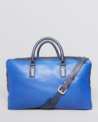 Marc By Marc Jacobs Color Block Leather Weekender Bag - Lyst