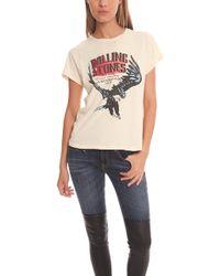 Madeworn Rolling Stones Eagle '75 Crew beige - Lyst
