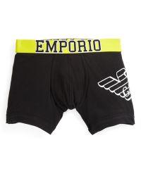 Emporio Armani Eagle Stretch Boxer Briefs - Lyst