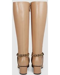 Gucci | Soho Leather Knee Boot | Lyst
