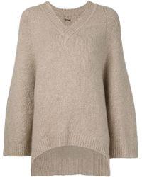 Adam Lippes   Oversized Sleeve Sweater   Lyst