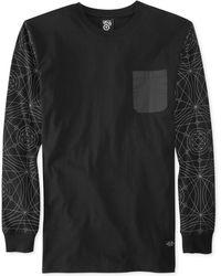 LRG Raid Crew-neck Printed-sleeve T-shirt - Lyst