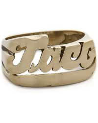 Snash Jewelry - Taco Ring - Gold - Lyst