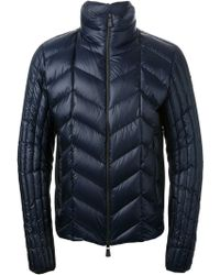 Moncler Padded Zip Jacket - Lyst