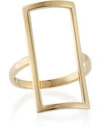 Lana Jewelry 14k Yellow Gold Chime Ring - Lyst