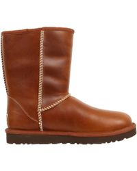 Ugg Classic Short Leather - Lyst