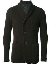 Giorgio Armani Shawl Collar Jacket - Lyst