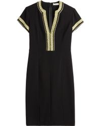 Etro Embroidered Cocktail Dress - Lyst