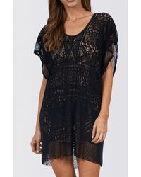 Jets by Jessika Allen | black Intrigue Cut Out Lace Kaftan | Lyst