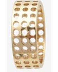 Kelly Wearstler Gold Precision Ring - Lyst