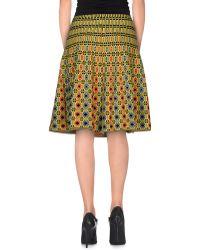 212 New York | Knee Length Skirt | Lyst