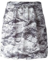 Moschino Cheap & Chic High Waist Printed Skirt - Lyst
