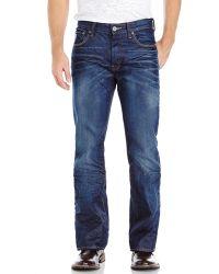 G-Star RAW Dark Wash 3301 Bootcut Jeans - Lyst