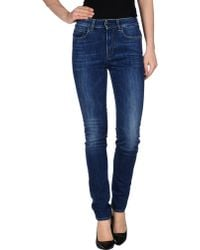 Notify Denim Trousers - Lyst