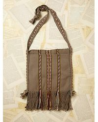 Free People Womens Vintage Woven Crossbody Bag - Lyst
