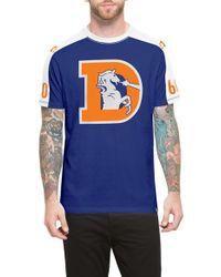 47 Brand - 'denver Broncos - Pointman' Graphic T-shirt - Lyst