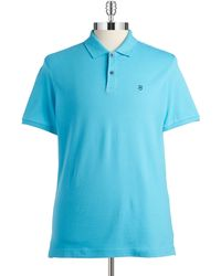 Victorinox - Tailored Fit Solid Polo - Lyst