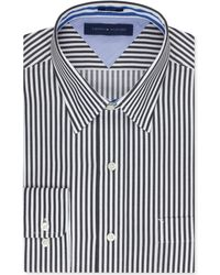 Tommy Hilfiger Slim-fit Bold Stripe Dress Shirt - Lyst